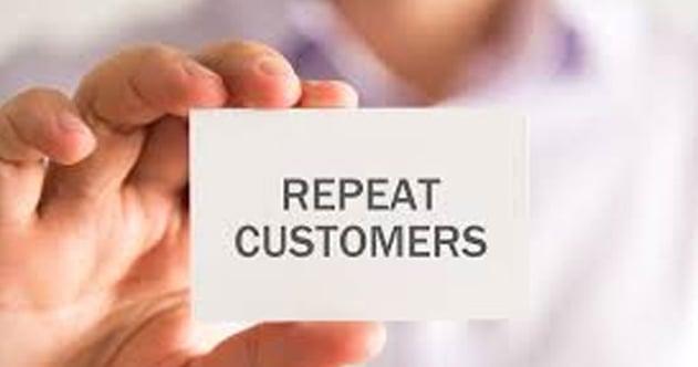 Generate a Repeat customers